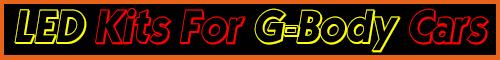 G-body LED Light Kits